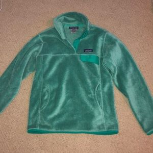 Blue Patagonia pullover